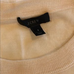J crew cream tippi sweater